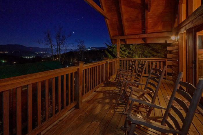 Fireside View Cabin Rental Photo