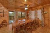 Premium 4 bedroom cabin with Large Dining Room