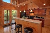 3 Bedroom Cabin with Bar Seating in Kitchen
