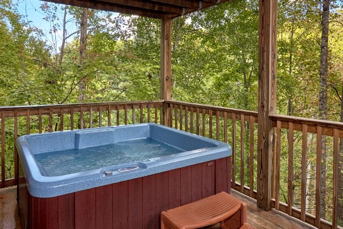 Luxurious 3 Bedroom Cabin with Private Hot Tub - Fort Knoxx