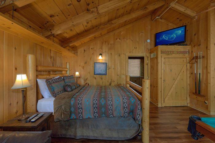 3 Bedroom Cabin Sleeps 8 with Loft Bedroom - Gatlinburg Splash