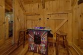 Pool Table and Arcade Game 3 Bedroom Cabin