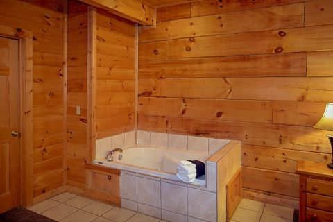 3 Bedroom Cabin Sleeps 10 with Jacuzzi Tubs - Gatlinburg Views