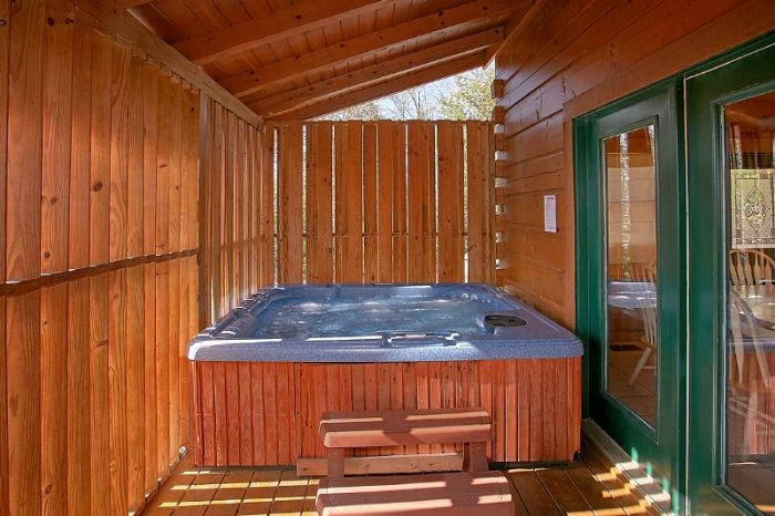 Private Hot Tub in Hidden Hills Gatlinburg - Gatlinburg Views