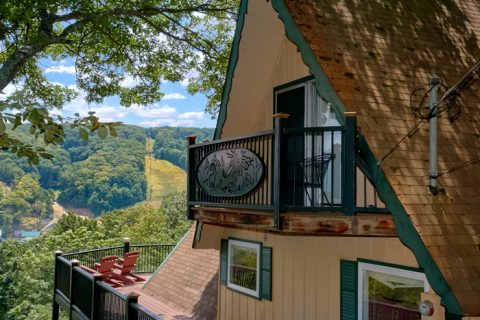 Private Cabin with balcony and mountain views - Grand Pinnacle