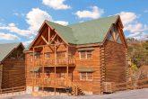 8 Bedroom Cabin Sleeps 24 in Black Bear Resort