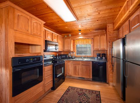 Cabin with double ovens and 2 Refrigerators - Great Aspirations