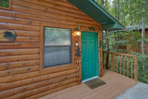 2 Bedroom Cabin with a Walk-Around Deck - Grin N Bear It