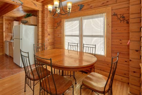 Kitchen with Dinning Room Table - Growly Bear