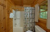 1 Bedroom 1 1/2 Bath Cabin Sleeps 4