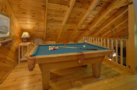 Open Loft Game Room with Pool Table - Have I Told You Lately
