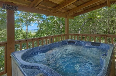 Private Hot Tub 1 Bedroom Honeymoon Cabin - Have I Told You Lately