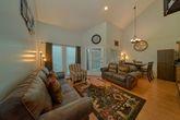 Spacious living room in Gatlinburg Condo