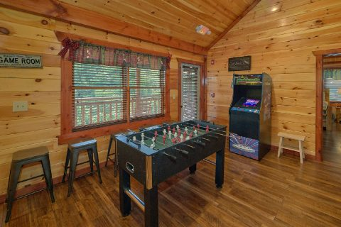 Pool Table, Foos Ball, Arcade Game 12 Bedroom - Heavenly Retreat Lodge