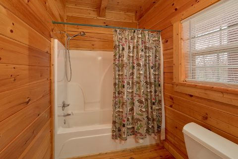 Bathroom with Tub / Shower on Main Level - Heaven's Gift
