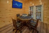Cabin with Poker Table and Pool table game room