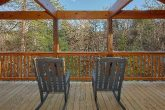 2 bedroom indoor pool cabin with wooded view