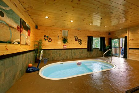 River Pleasures: 2 Bedroom Sevierville Cabin Rental