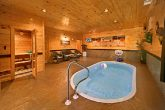 Cabin with Heated Private Pool