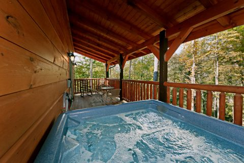 Cabin with Hot Tub - Hickory Splash