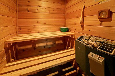Cabin with Sauna - Hickory Splash