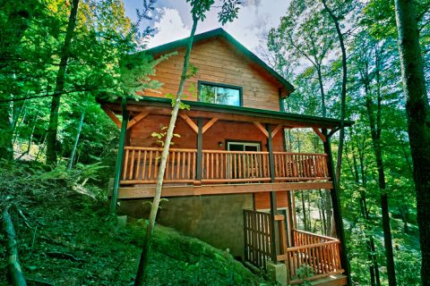 Cabin with Wooded location - Hickory Splash