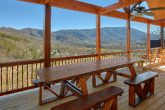 Spectacular Views 4 Bedroom Cabin Picnic Table