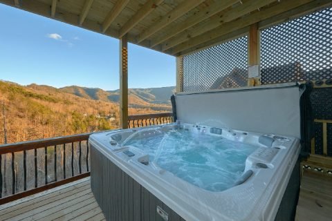 Private Hot Tub wiht Spectacular Views 4 Bedroom - Hideaway Dreams