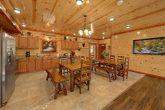 6 Bedroom Cabin with dining room tables