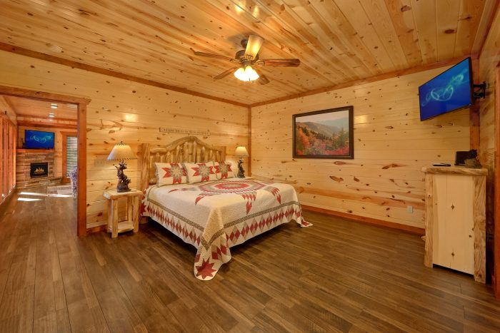6 Bedroom Cabin with 6 King beds - High Dive