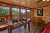 6 Bedroom Cabin with a Foosball Table