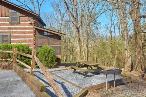 2 bedroom cabin with Picnic table and Grill - Hillbilly Deluxe