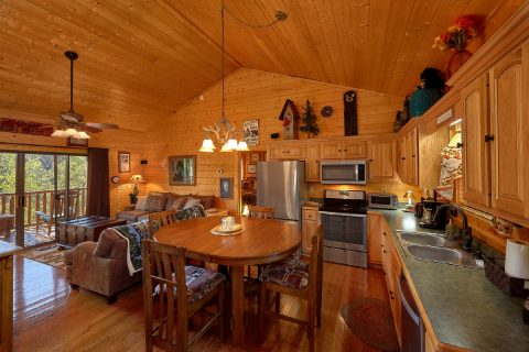 Spacious 4 bedroom cabin with Full Kitchen - Hillbilly Hideaway