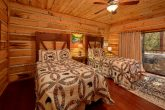 Cabin Rental with 2 Full beds in bedroom