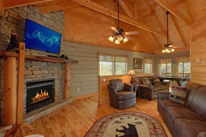 Wears Valley 1 Bedroom Cabin Fully Furnished - Hilltopper