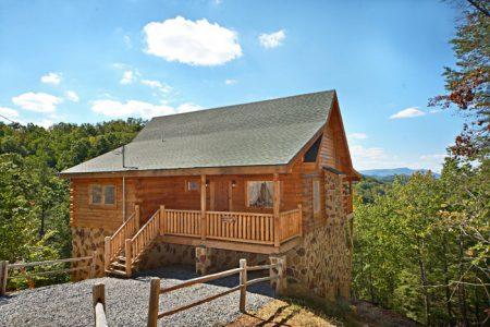 Spirit of the Valley: 2 Bedroom Sevierville Cabin Rental