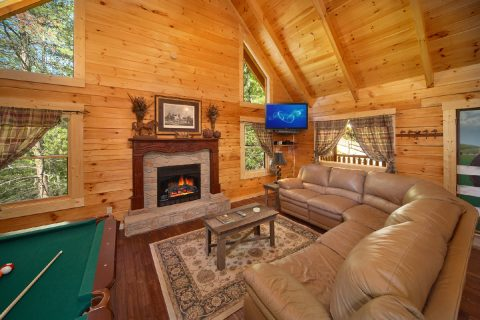 Cabin with Open Living Area - Hold Yer Horses