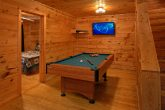 Cabin with Pool Table, Game Room and TV