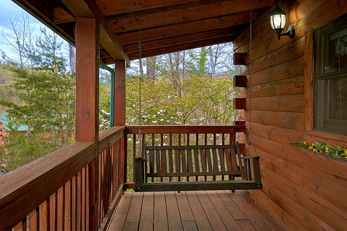 Honeymoon Cabin with Swing - Honeymoon Getaway