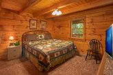 King Master Suite in Gatlinburg Cabin