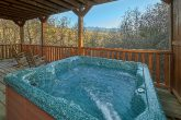Gatlinburg cabin with hot tub and mountain views