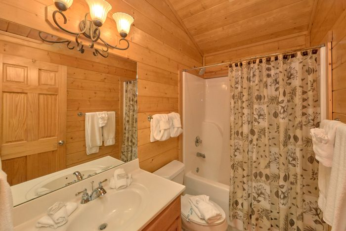 5 Bedroom Cabin with Master Suite Fireplace - In The Heart Of Pigeon Forge