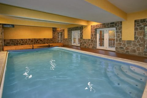 Indoor Pool Lodge 8 Bedroom Cabin Pigeon Forge Cabins Usa
