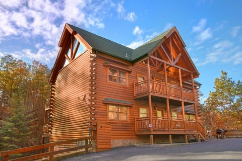 8 Bedroom 5 Story Sleeps 28 with Indoor Pool - Indoor Pool Lodge