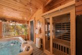 Luxury cabin with Swim Spa Pool and Sauna