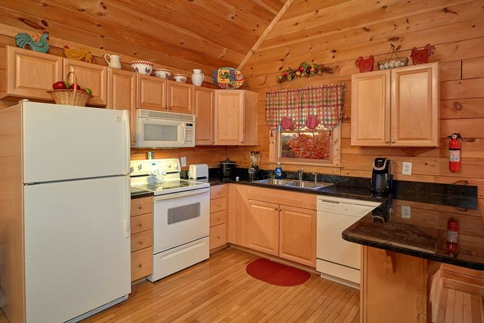 Pigeon Forge Cabin with Fully Furnished Kitchen - It's About Time