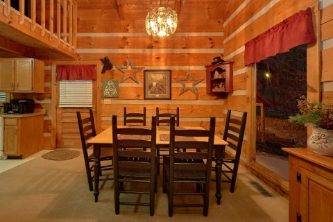 Wears Valley 2 bedroom cabin with Dining room - Just Barely Making It
