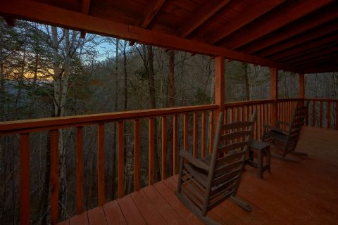 Wooded View from rustic 2 bedroom cabin - Just Barely Making It