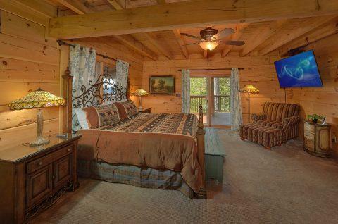 6 Bedroom Cabin with Main Floor Master Bedroom - KenKnight's Wilderness Lodge