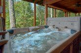 6 Bedroom Cabin with 2 Hot Tubs Sleeps 18